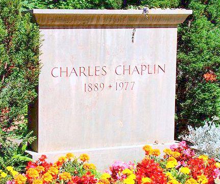 Charlie Chaplin lapida